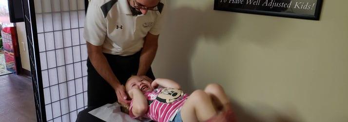 Chiropractic Adjustment for Kids in El Dorado KS