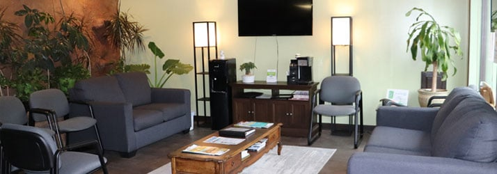 Waiting Room at Art of Life Chiropractic